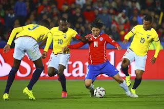 بث مباشر مباراة تشيلي والاكوادور