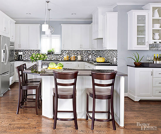The country farm home farmhouse kitchen color trends for 2016 for Top kitchen wall colors 2016