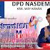 DPD NasDem Way Kanan Mengucapkan Selamat HUT 4 Tahun Genta Merah