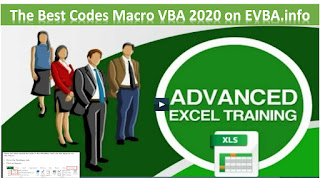 Free ebook] The Best Codes Macro VBA 2020 on EVBA.info