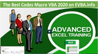 [Free ebook] The Best Codes Macro VBA 2020 on EVBA.info
