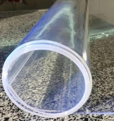 A roll of the liquid glass