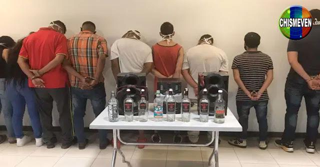 11 personas detenidas por hacer una CoronaParty en Bello Campo