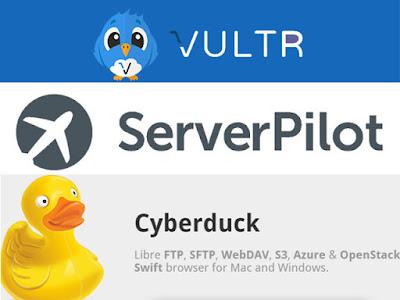 Cara Setting VPS VULTR dengan Menggunakan Serverpilot dan Cyberduck