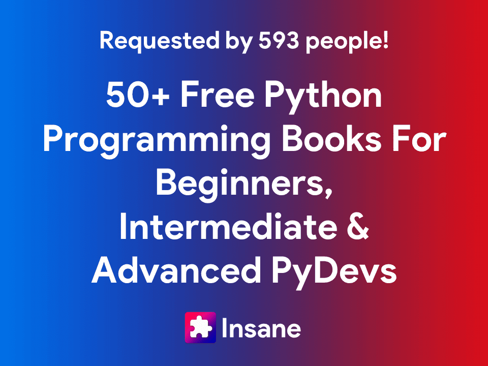 50+ Free Python Programming Books (Updated for 2021)