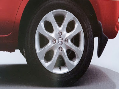 "Gambar Desain Alloy Wheels 15"" Nissan March"