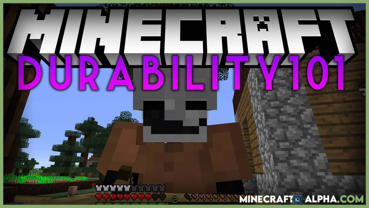 Minecraft ShayBox's Durability101 Mod 1.17.1  (Green Bar Now Numbers)