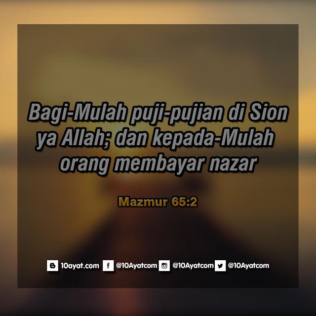 Mazmur 65:2
