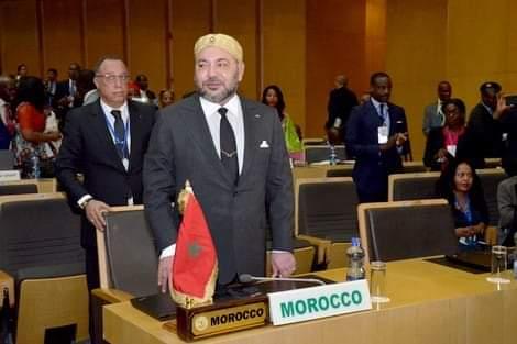 تقديم تقرير الملك محمد السادس نصره الله بشأن تفعيل المرصد الإفريقي للهجرة بالمغرب أمام قمة الاتحاد الإفريقي