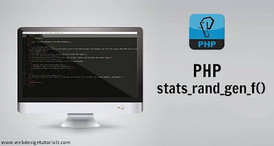 PHP stats_rand_gen_f() Function