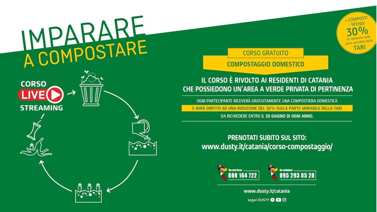 Dusty corso compostaggio online