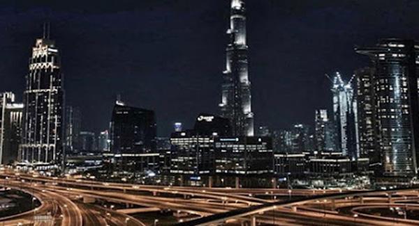 Dubai curfew