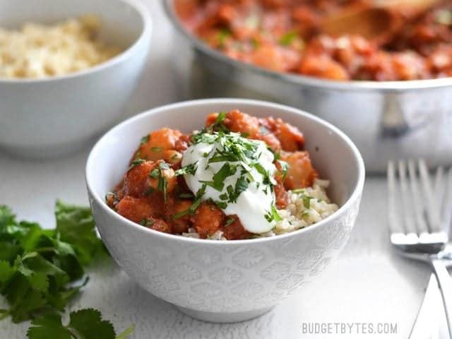 Chana Aloo Masala #vegan #recipe