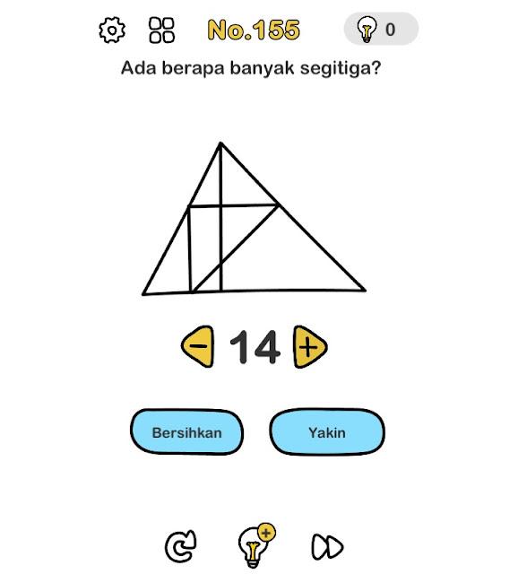 Ada berapa banyak segitiga?