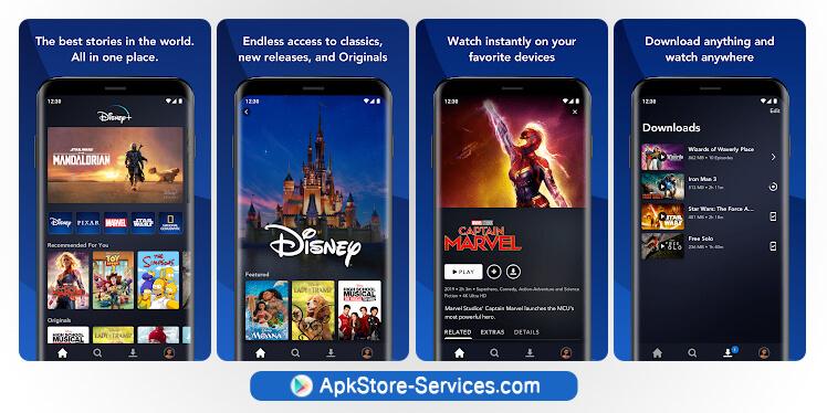 تطبيق المشاهدة - Disney Plus