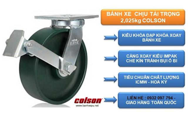 Bánh xe thép đúc chịu tải trọng cao 2,025kg | 7-8679-279BRK1 www.huynhgia.biz