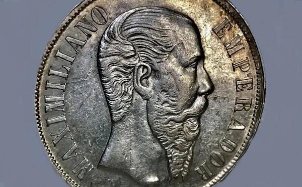 ¿Tienes la moneda Maximiliano Emperador de 1 peso? Este enorme fortuna pagan por ella
