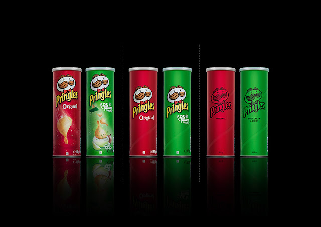 Green Pear Diaries, diseño, packaging, minimalismo, Pringles