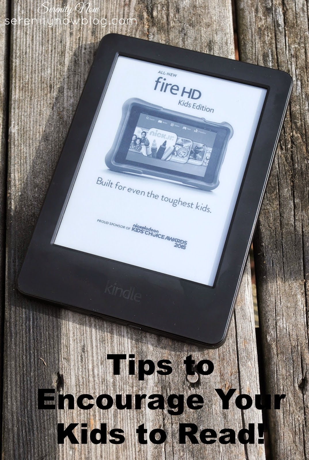 Tips to Encourage the Reluctant Reader in Your Home, from Serenity Now