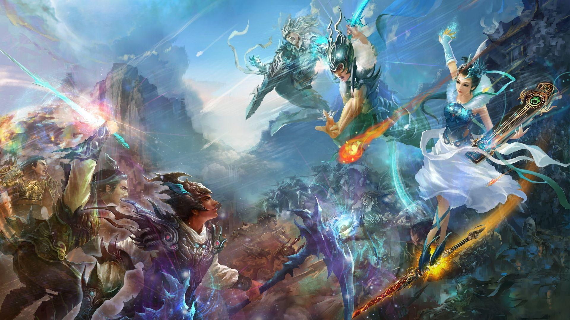 mmorpg android wallpaper