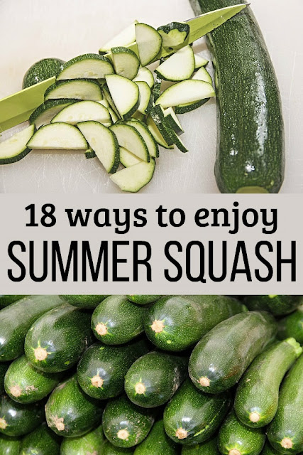 Are you overrun with zucchini and summer squash? Here are some delicious ideas to serve squash - maybe you'll find a new favorite?