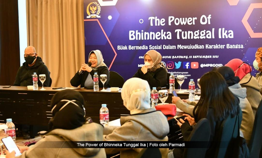 The Power of Bhinneka Tunggal Ika   Netizen MPR Bandung