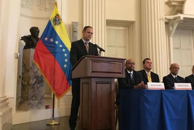 Denuncian «autoproclamación» de nueva junta del TSJ en el exilio