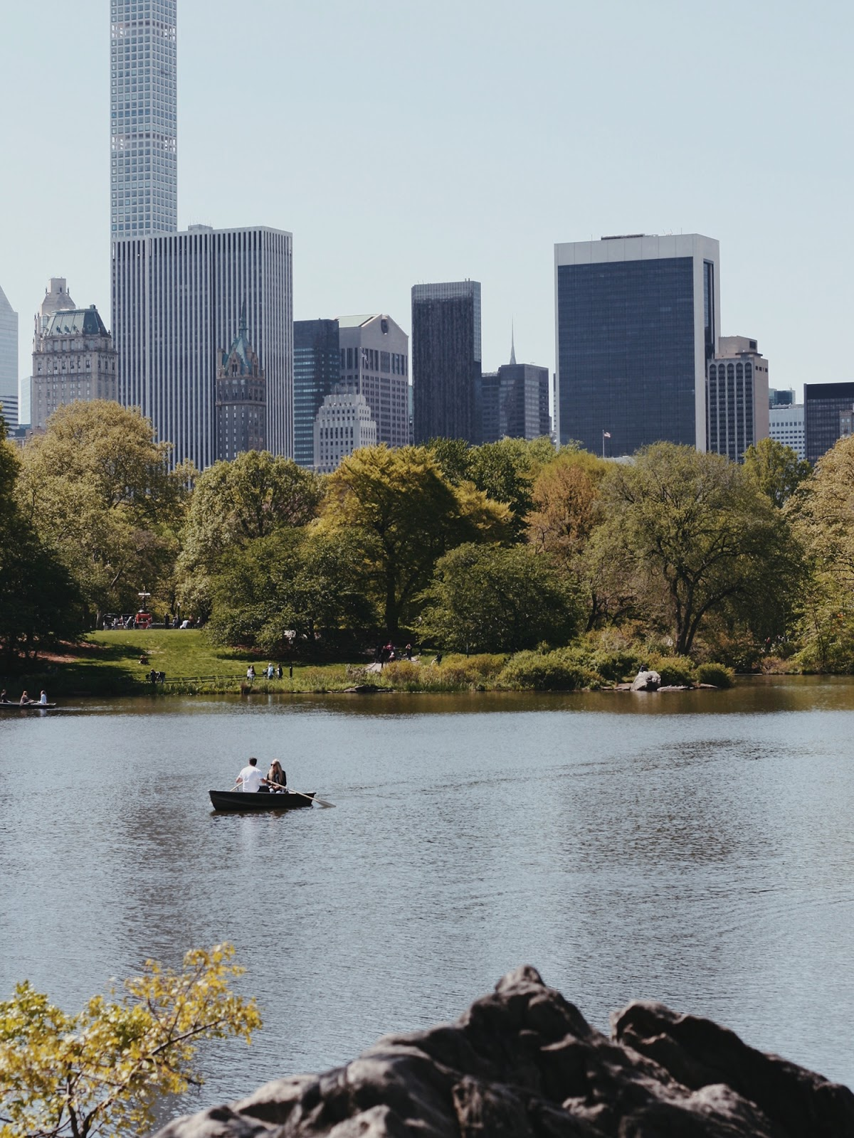 New York travel diary central park