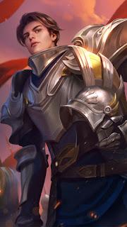 Zilong Blazing Lancer Shinning Knight Heroes Fighter Assassin of Skins V1