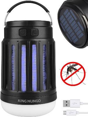 Kampeerlamp / anti muggen lamp King Mungo