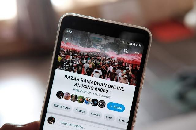Senarai Bazar Ramadan Yang Menjalankan Secara Online