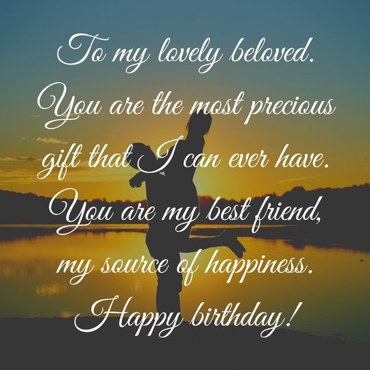 Birthday Messages for Lovers