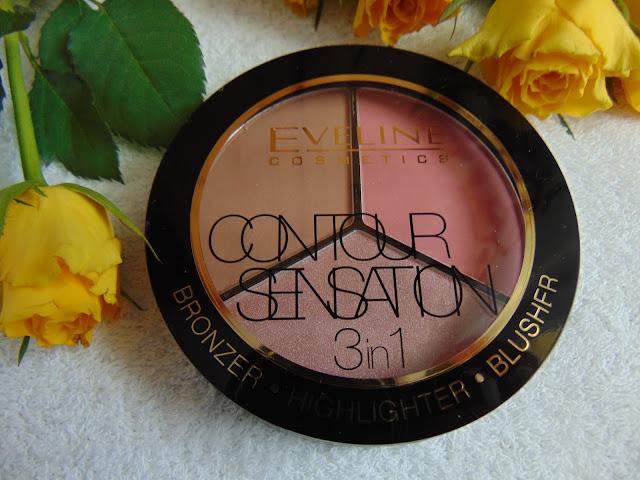 Eveline Cosmetics - Contour Sensation 3in1 - Modelowanie twarzy przy pomocy palety