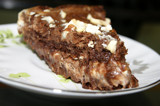 Ciasto czekoladowo-sernikowe