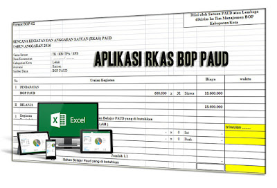 Aplikasi RKAS BOP PAUD Tahun Pelajaran 2017/2018
