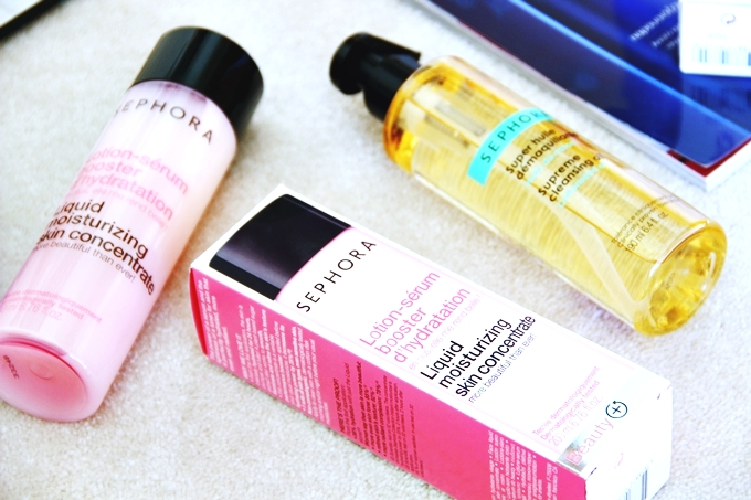 """Sephora """"Liquid moisturizing skin concentrate"""" toner/serum.Sephora tonik losion za lice."""