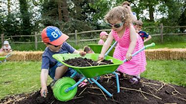 Los niños al jardín: jardinería con niños