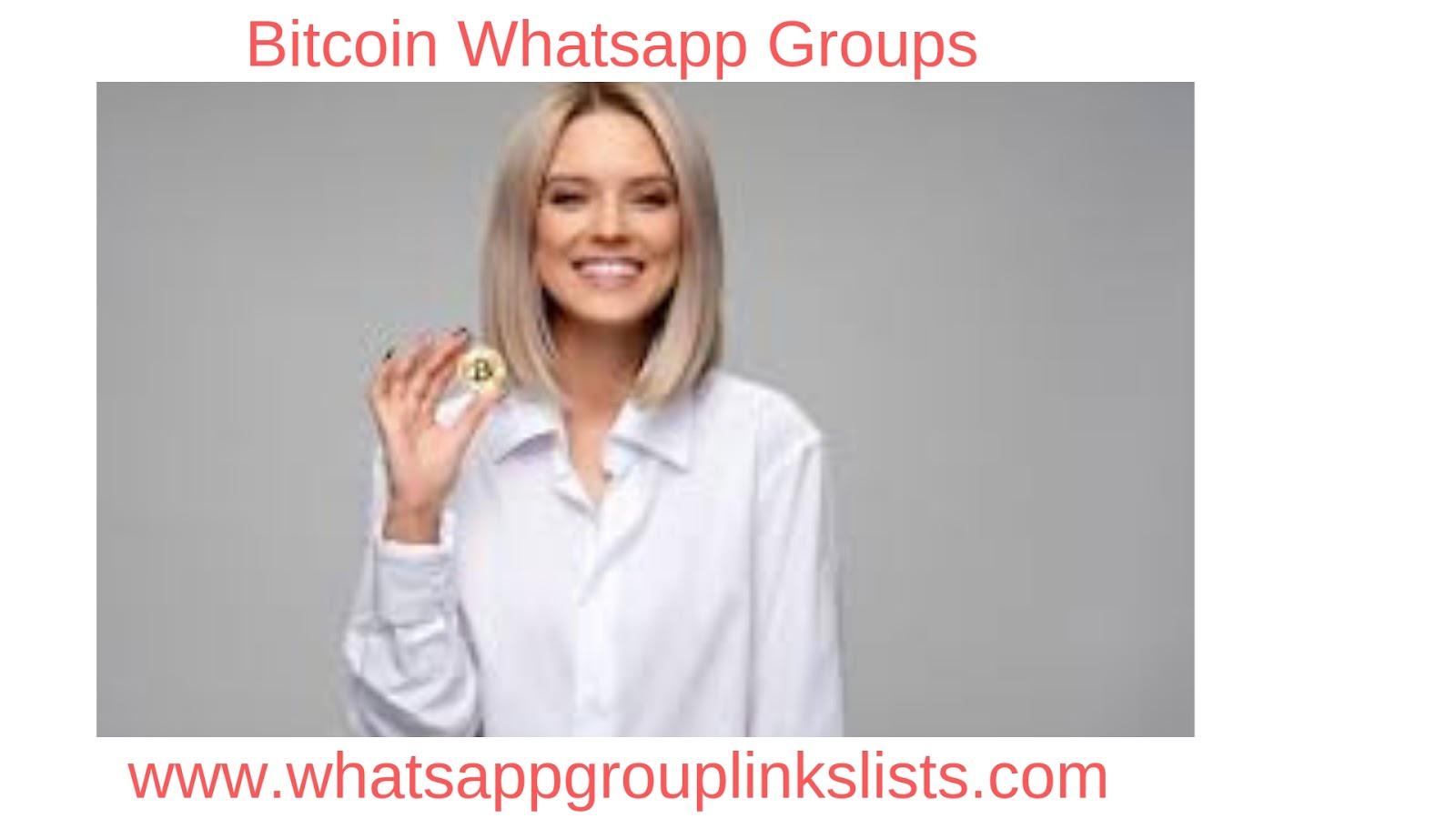 Join Bitcoin Whatsapp Group Links List