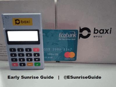 Baxi Box MPOS accepting ATM Card