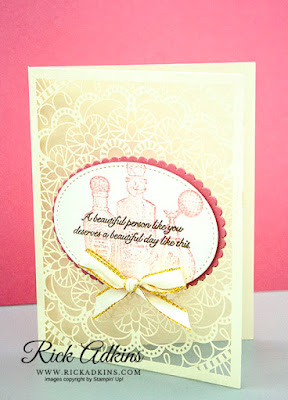 The Bird Ballad Laser-Cut Cards & Tin includes lacy laser-cut cards ready for your finishing touches in a lovely storage tin. Add labels you create using your favorite stamp set and dies or punches