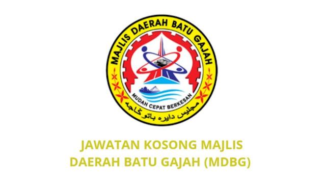 Jawatan Kosong Majlis Daerah Batu Gajah 2021