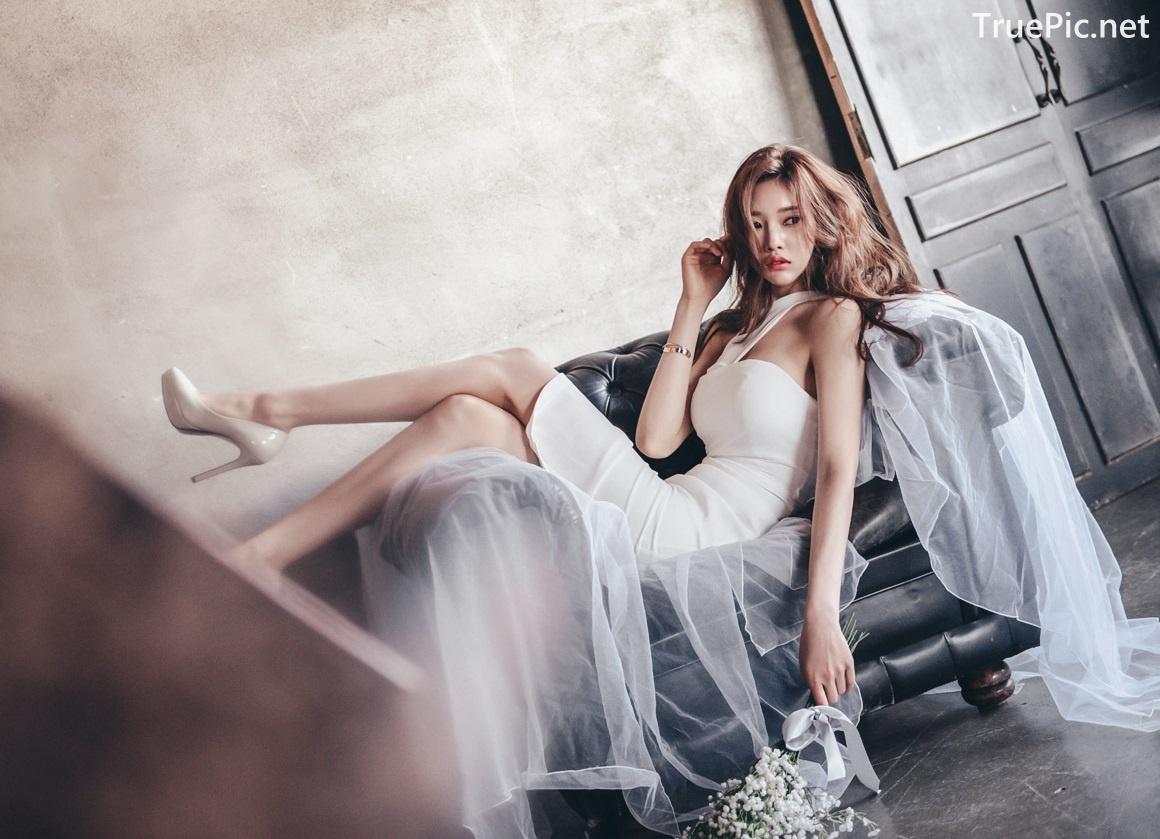 Image Korean Fashion Model - Park Jung Yoon - Wedding Dress Set - TruePic.net - Picture-4