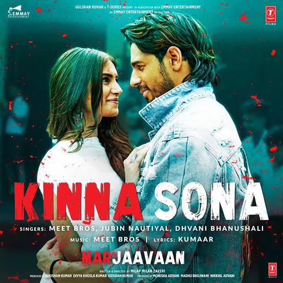 Kinna Sona Punjabi love song lyrics, Sung by Jubin Nautiyal and Dhavni Bhanushali.