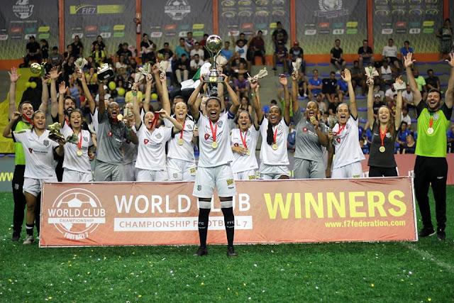 Figueirense/Paula Ramos conquista o Mundial Fut7 de Clubes