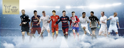 Top 10 Candidates UEFA Player of the Year 2015-16