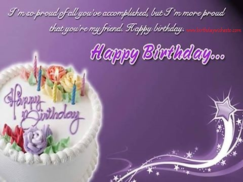 Birthday Wishes For Her Friend ~ Birthday wishes birthday