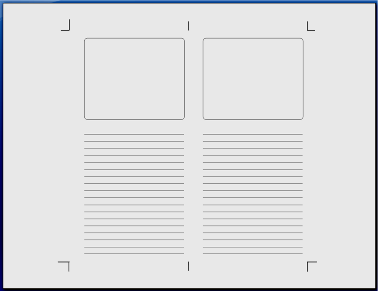 Storyboard Template Word Blank A4