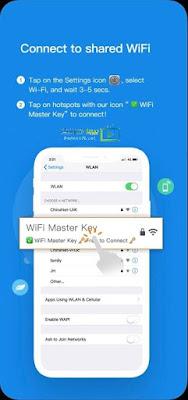 تحميل برنامج واي فاي ماستر كاي للايفون