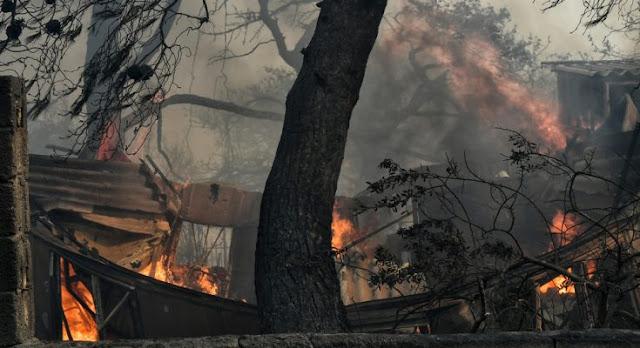 Απόπειρα εκφοβισμού ΜΜΕ για τις πυρκαγιές!