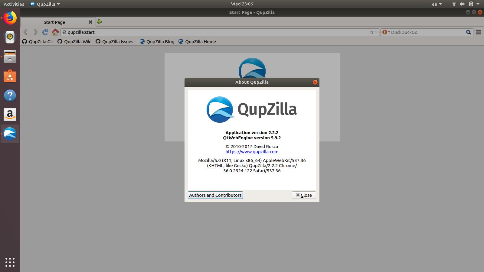 How to install program on Ubuntu: How to install QupZilla